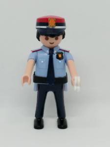 PLAYMOBIL-POLICIA-MOSSOS-D-ESQUADRA-ACADEMIA-CUSTOM-CATALUNA-POLICE