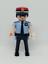 PLAYMOBIL-POLICIA-MOSSOS-D-ESQUADRA-ACADEMIA-CUSTOM-CATALUNA-POLICE miniatura 1