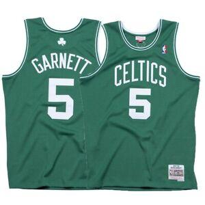 15c6ad2ccae Details about Kevin Garnett 2007-08 Boston Celtics Mitchell & Ness Road  Swingman Retro Jersey