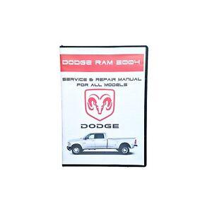 2004 dodge ram 1500 2500 3500 workshop service repair manual