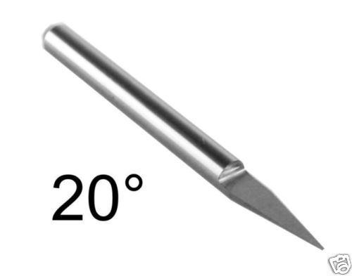 Ø 3,17x20°x0,2mm Gravierstichel konisch Fräser für CNC gravurmaschine engraving