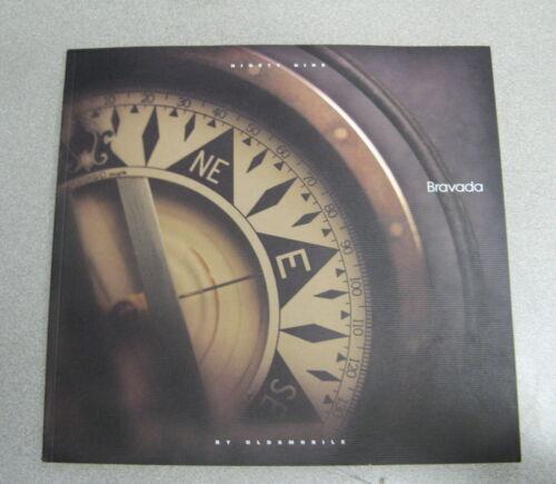 1999 Oldsmobile Bravada Sales Brochure Catalog Manual