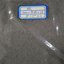 1pcs Iron Fe Foam Plate Sheet Size 100mmx100mm 200mmx300mm Thickness 10mm 15mm