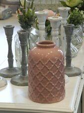TRUMPET Keramikvase Trompetenvase Dekovase Blumenvase Vase Keramik Shabby Chic