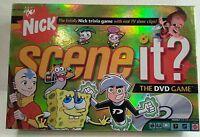 Scene it Nick Trivia Game, Boys Girls, Mattel Spongebob Jimmy Neutron Drake Josh