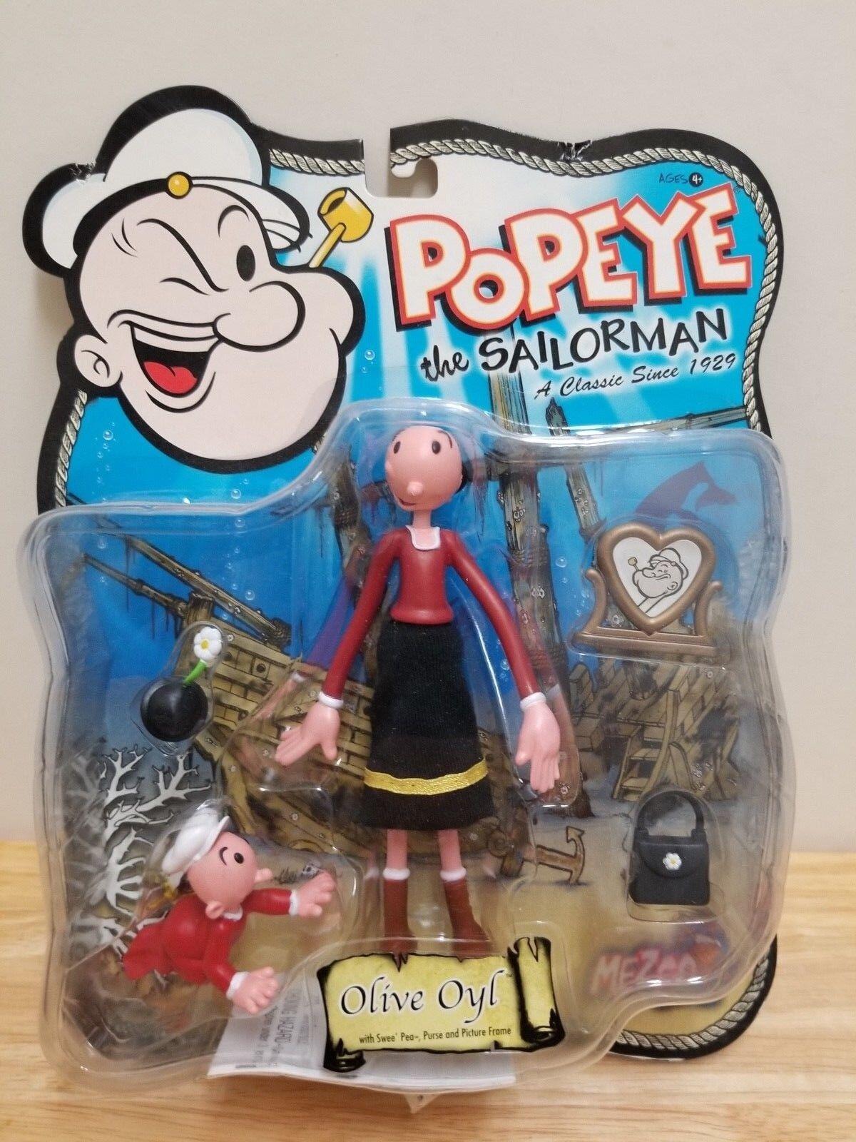 Mezco Popeye Olive Oyl & Wimpy