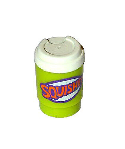 Apu Simpsons series Cup take out lime Squishee Figure Accessory NEW Lego