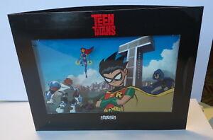 TEEN-TITANS-promo-cybercene-cel-3D-2003-Great-gift-Robin-Starfire-Beast-Boy