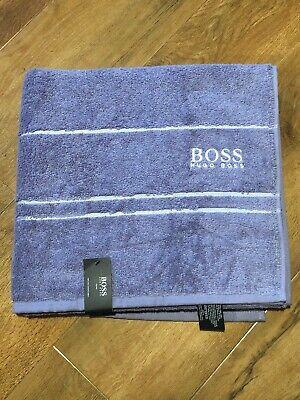 Genuine Item 100/% Fine Combed Cotton Hugo Boss Hand Towel in Light Grey