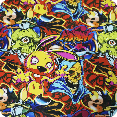 Hydrographic Film Hydrographics HYDRA WTP Hydroprinting skulls flames HLC-101