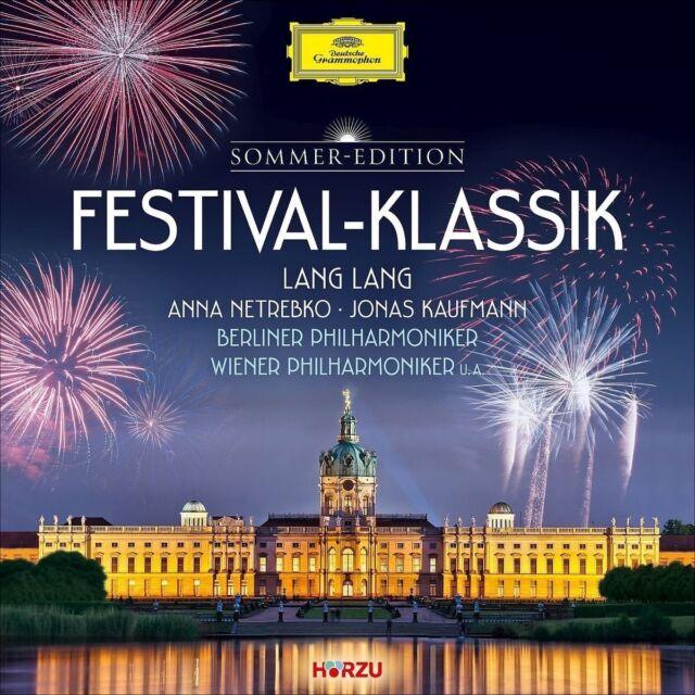 FESTIVAL-KLASSIK (HÖRZU) - LANG/NETREBKO/KAUFMANN/PAVAROTTI/WP/BP/+  2 CD NEU