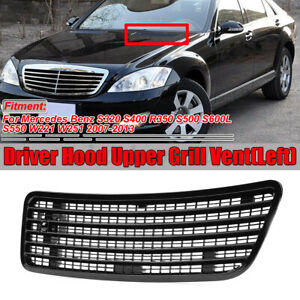 Left Hood Upper Grill Vent For 2007-2013 MERCEDES-BENZ S550 W221 W251 2218800305