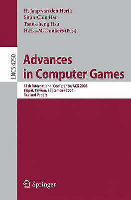 1 of 1 - Advances in Computer Games: 11th International Conference, ACG 2005,-ExLibrary