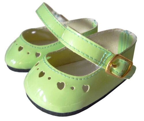Light Green Patent Shoes For Bitty Baby Doll Clothes  HIGH QUALITY