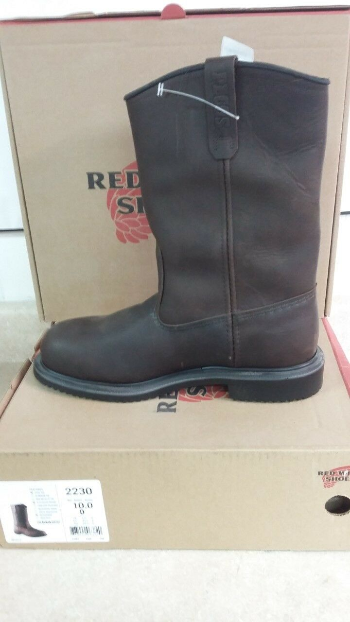 rot Wing 2230 Steel Toe Supersole Waterproof Pull-on Stiefel