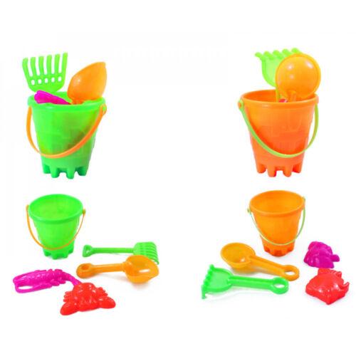 Niños Mini Arena Cubo de juego y conjunto de herramientas Juguete Set Navidad Navidad Media Naranja
