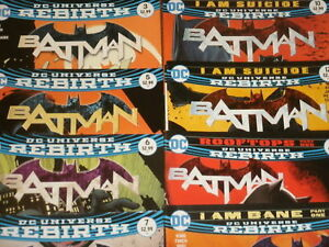 DC-Comics-Rebirth-BATMAN-You-Choose-Bane-Catwoman-Joker-Annuals-Robin-etc