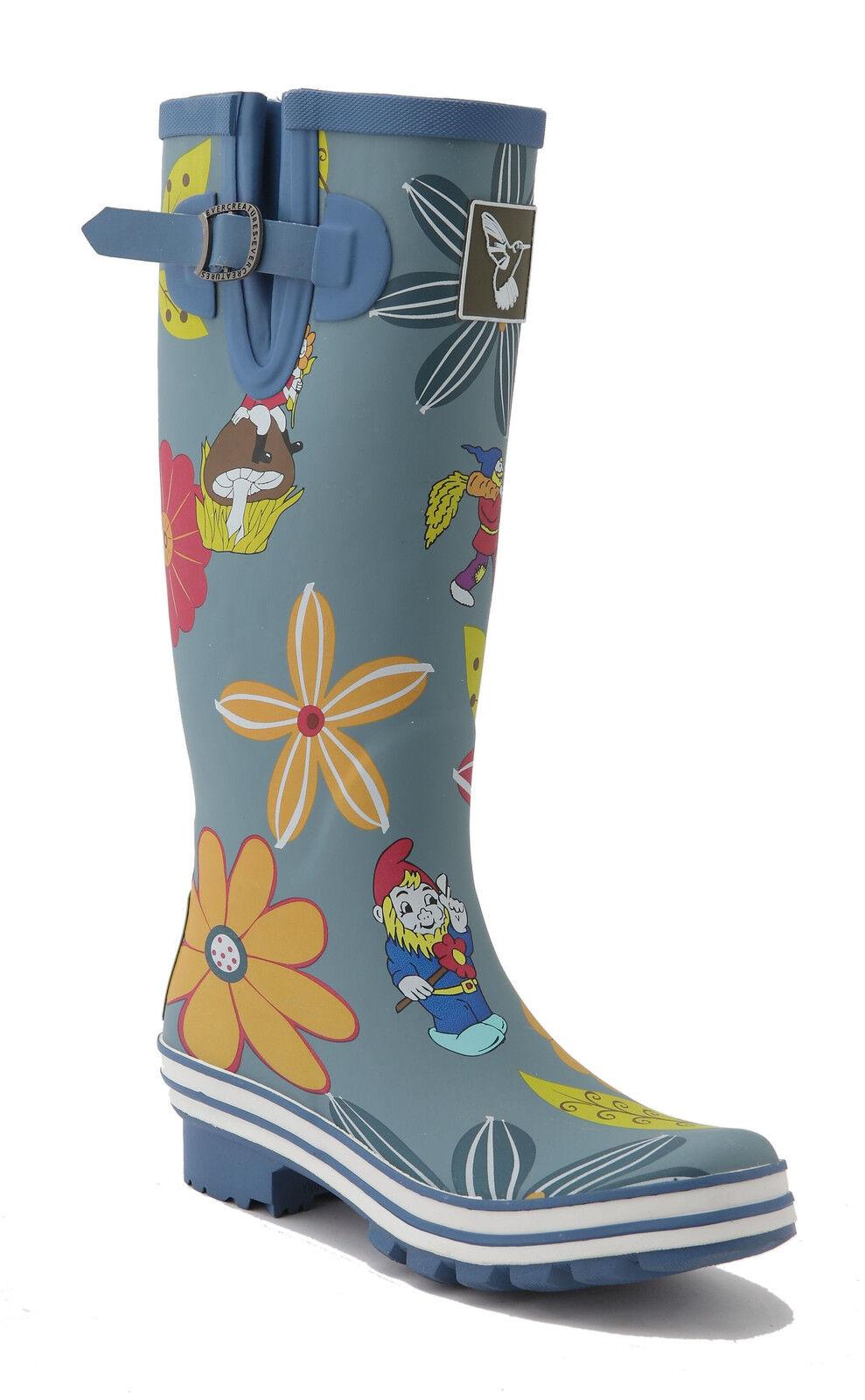 shopping online e negozio di moda Evercreatures Gnome e DAHLIA DAHLIA DAHLIA Stivali di gomma blu  punto vendita