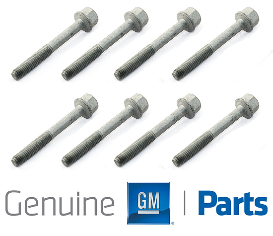 6.0L Powerstroke Diesel Injector Hold Down CLAMP WITH BOLT Retainer T40 Set of 8