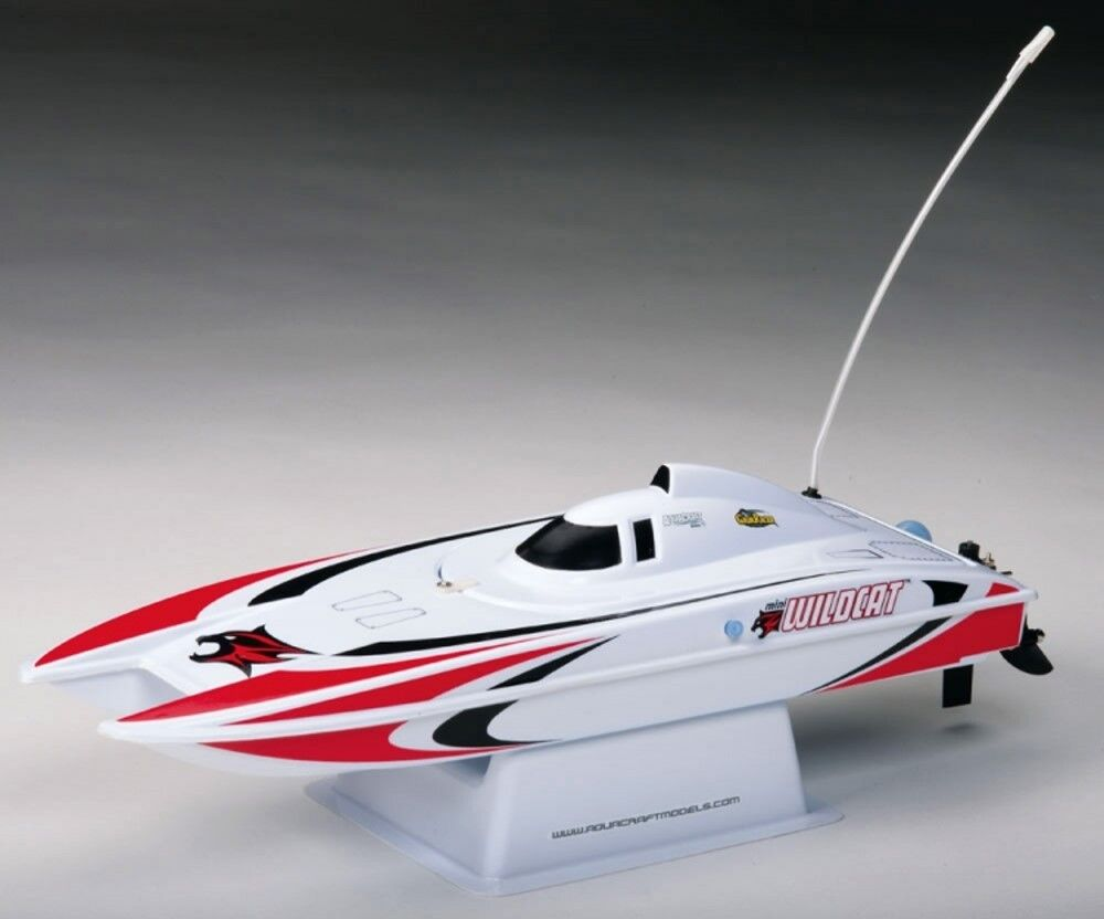 Aquacraft By Hobbico Mini Wildcat Catamaran 2.4 GHz Red