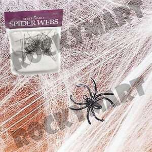 how to use stretchable spider web