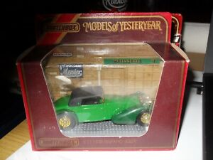 MATCHBOX-Models-of-Yesteryear-Y-17-1938-HISPANO-SUIZA-Mint-in-Mint-box