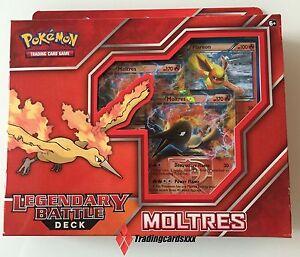 Pokemon-Deck-ANGLAIS-Legendary-Battle-Deck-Moltres-EX-Sulfura-EX
