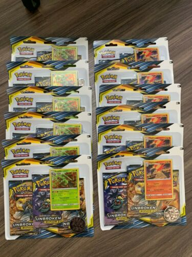 Pokemon Unbroken Bonds Booster Box 36 Sealed Packs Sceptile Typhlosion Blisters
