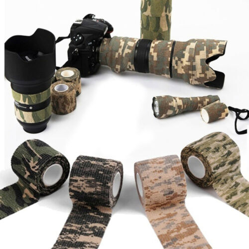 camping camouflage - verband outdoor - tools camo wrap bänder selbstklebende