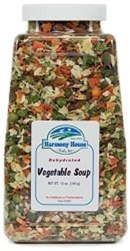 Dried Vegetable 12 Ounce Quart Size Jar Harmony House Foods Soup Mix