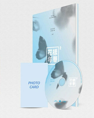 BTS 4th Mini Album THE MOST BEAUTIFUL MOMENT IN LIFE pt.2 PEACH CD+PCARD+Gift