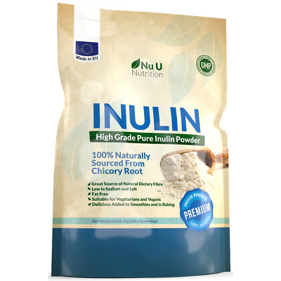 Inulin Prebiotic Fibre Powder 1kg from all Natural Chicory best quality