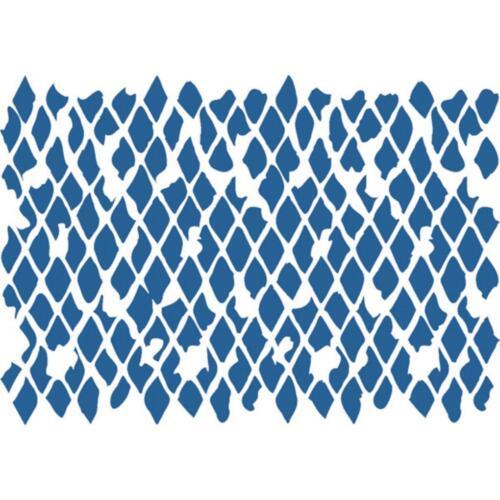 A5 Schablone STAMPERIA Stencil Textil Wand Hintergründe HINTERGRUND I