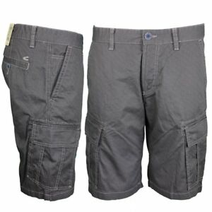 top brands where can i buy classic styles Details about Camel Active Men's Cargo Shorts Houston Anthracite Grey  Checked 7Z83 496350 07