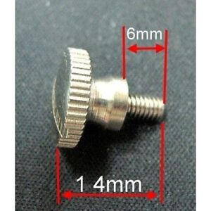 10 Pcs Thumb Screw for Sewing Machine Presser Feet Attachment Binder Mounting
