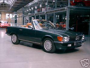 Mercedes-DB-R107-W107-Cabrio-Verdeck-Einbau-Anleitung