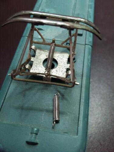 attelages Jouef Lima Hornby Ressorts sur mesure pour réparation pantographes