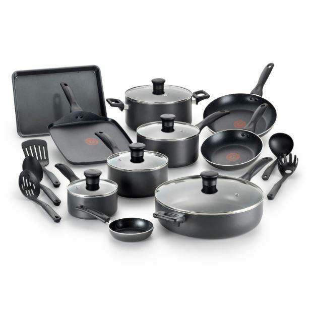 Cookware Set antiadhésif poêle casserole Crêpière Ustensile Lave-vaisselle four cuisine pots