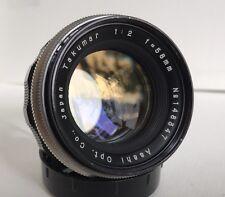 M42 Takumar 58mm 1:2 F2 Sonnar Design VTG 50mm Lens *Samples* EX++ Very Rare