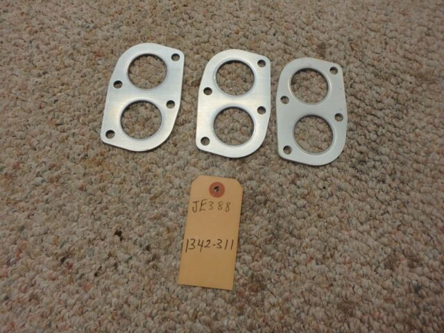 1968-72 Fiat 124 1.4 /1.6 Twin Cam Coupe Spider Exhaust Flange Gasket Lot  JE388