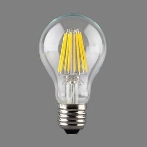 16w e27 kaltwei a60 led retro edison filament gl hbirne vintage runde lampe ebay. Black Bedroom Furniture Sets. Home Design Ideas