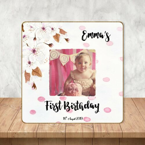 First Birthday Gift Girl Personalised First Birthday Picture Frame Decoration