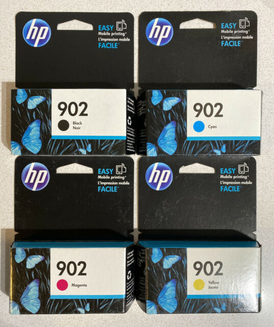 NEW GENUINE - HP 902 FULL COMBO INK CARTRIDGES - X4E05AN - SEALED BOXES 2020