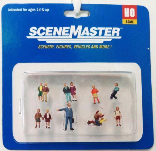 HO Scale Walthers SceneMaster 949-6030 Elementary School Class Figure Set pcs 8