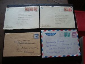 Switzerland-4-Envelopes-B13-Switzerland