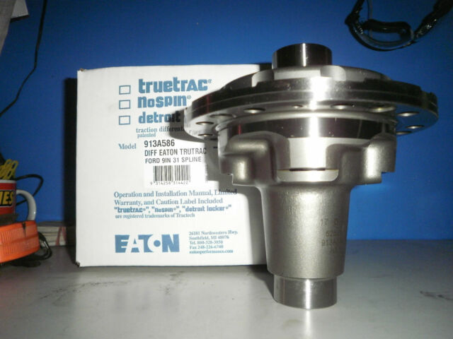 Eaton 913A586 Detroit Truetrac 9 31 Spline Differential for Ford