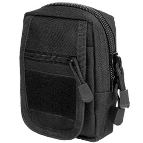 NcSTAR VISM Accessory Tactical MOLLE / PALS Small Military Utility Pouch Black