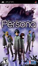 Shin Megami Tensei Persona Portable BRAND NEW Sony PSP Black Label Atlus Games