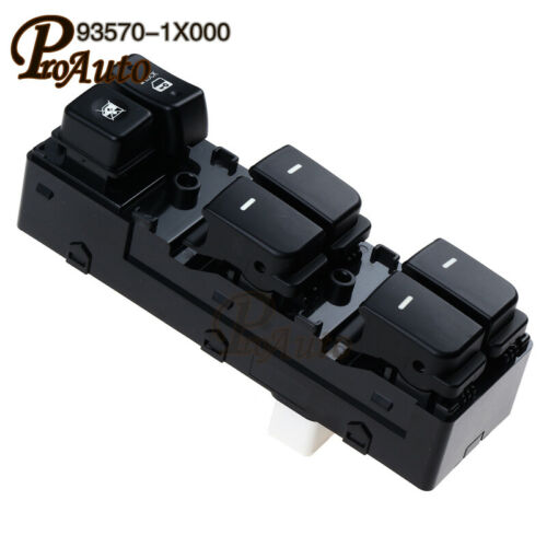 93570-1X000 Power Window Switch Front Left Door Glass Switch For FORTE Cerato