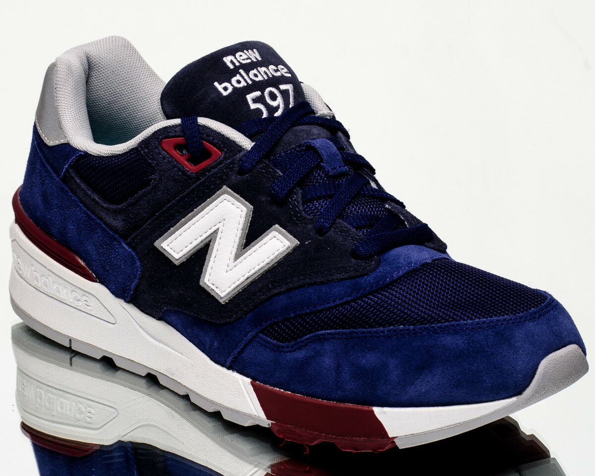 New Balance 597 NB NB597 men lifestyle casual sneakers NEW navy white ML597-VAB
